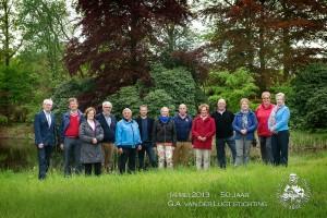 Groepsfoto met partners - 50 jarig bestaand